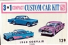 1960 SMP Chevy Corvair (3 'n 1) Stock, Custom or Competition (1/25)
