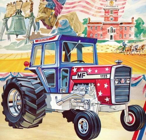 Massey Ferguson 1155 Farm Tractor Spirit Of America 1 25