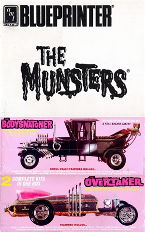 The Munsters Duo 'Blueprinter' Edition (2 Kits in 1 Box) (1/25) (fs)
