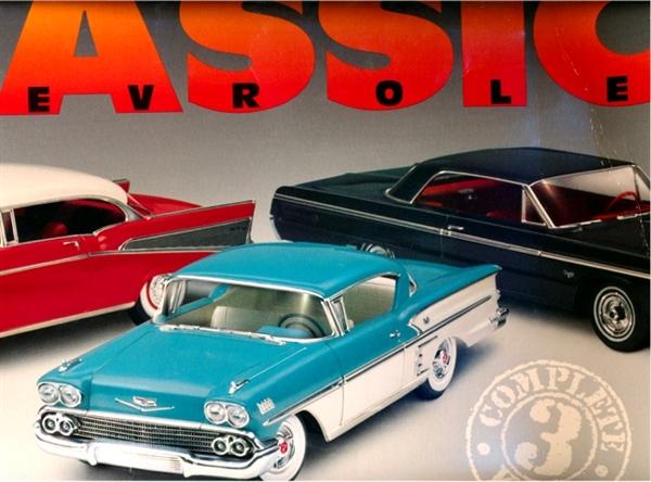 Chevrolet Classics Set 1957 Chevy Bel Air 1958 Chevy
