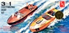 1959 Customizing Speed Boat (3 'n 1) (1/25) (fs)