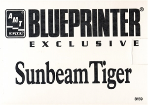 1966 Sunbeam Tiger (2 'n 1) Stock or Custom (1/25) (fs) Blueprinter