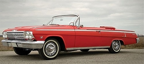 1962 Chevy Impala Convertible Ss 1 25 Fs