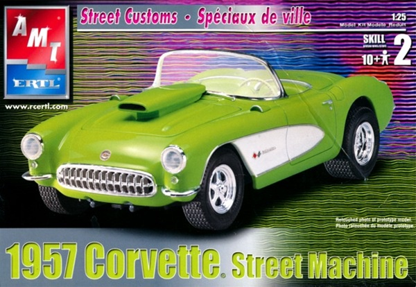 Image result for AMT 57 corvette
