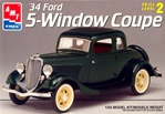 1934 Ford 5-Window Coupe Stock (1/25) (fs)