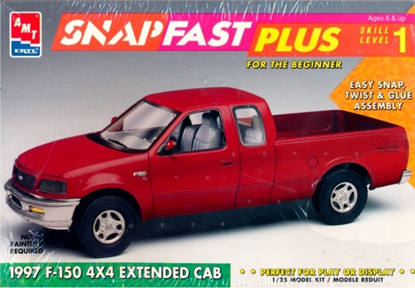 1997 Ford F 150 4x4 Extended Cab Snap Kit 1 25 Fs