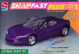 1997 Corvette Sting Ray III Snap Kit (1/25) (fs)