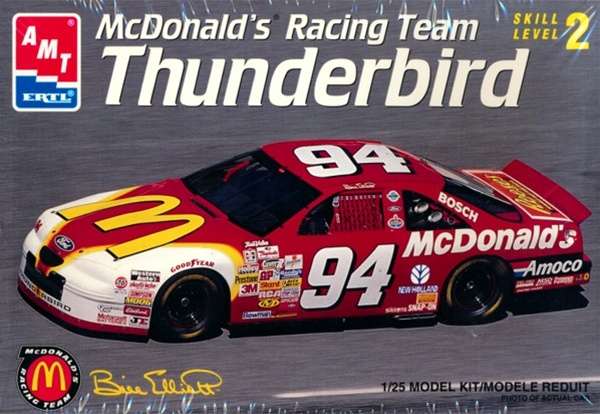 1996 ford thunderbird  u0026 39 mcdonald u0026 39 s u0026 39    94 bill elliot  1  25