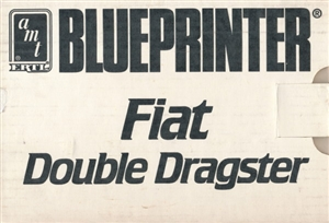 Blueprinter Fiat AA Altered Double Dragster (1/25) (fs)
