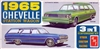 1965 Chevelle Station Wagon (3 'n 1) Stock, Custom, Racing (1/25)