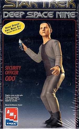 Star Trek Deep Space Nine Security Officer Odo With Display Base (fs)