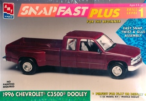 1996 Chevrolet C3500 Dooley Snap Kit (1/25) (fs)