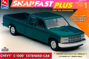 1993 Chevy C-1500 Extended Cab Snap Kit (1/25) (fs)