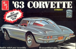 1963 Corvette Sting Ray Coupe (1/25) (fs)