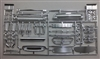 Blueprinter Grilles, Bumpers, Engines Parts Pack (1/25) (fs)
