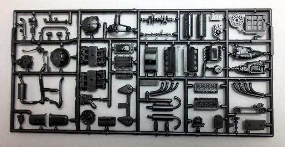 Blueprinter Grilles, Bumpers, Engines Parts Pack (1/25) (fs)