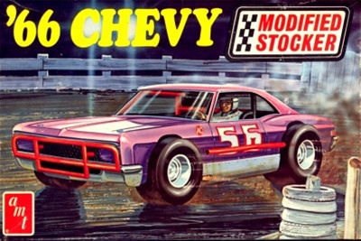 Mid Engine Corvette >> 1966 Chevy Impala Modified Stocker (1/25) (fs)