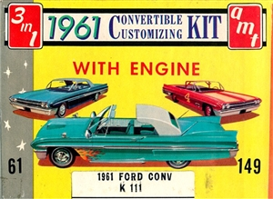 1961 Ford Galaxie Sunliner Convertible (3 'n 1) Stock, Custom or Competition (1/25)