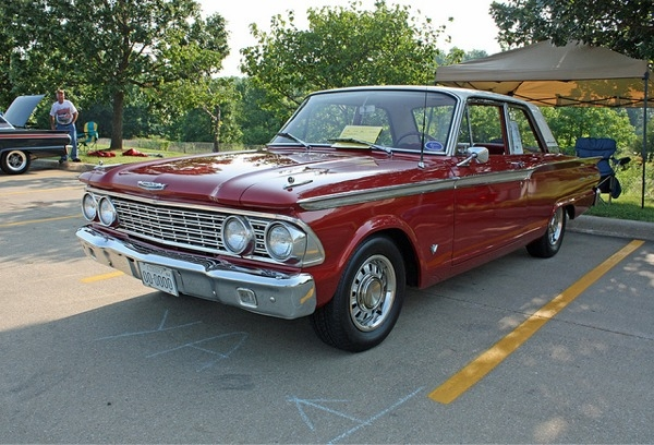 1962 Ford Fairlane 2-Door Sedan (3 'n 1) Stock, Custom or Competition (1/25)