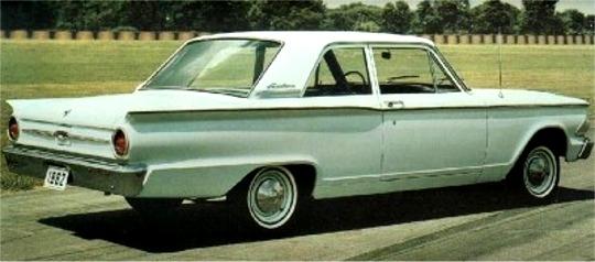 1962 Ford Fairlane 2 Door Sedan 3 N 1 Stock Custom Or Competition 25