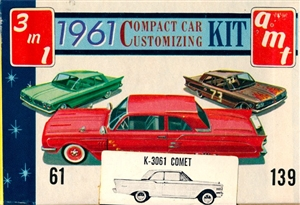 1961 Mercury Comet 2-Door Sedan (3 'n 1) Stock, Custom or Competition (1/25)