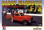 1965 Altered Wheelbase Ford Falcon Dragster 'Daddy Warbucks' (1/25) (fs)