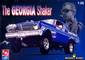 1965 Altered Wheelbase Ford Falcon Dragster Huebert Platt 'Georgia Shaker' (1/25) (fs)