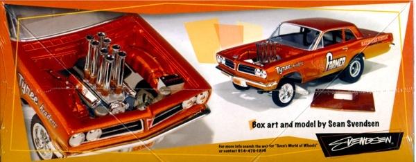 altered wheelbase model kit