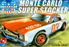 1970 Chevy Monte Carlo Super Stocker from MPC tooling with racing chassis  (1/25) (fs)
