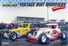 Vintage Dirt Track Modified Racers Double Kit from Lindberg Tooling (1/25) (fs)