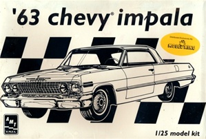 1963 Chevrolet Impala SS (Limited 1 of 5000) (1/25)