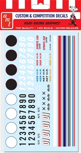 "Road Racing Graphic Decals (1/25) (fs) <br><span style=""color: rgb(255, 0, 0);"">Just Arrived</span>"