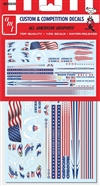 "All American Graphics Custom Decals (1/25) (fs) <br><span style=""color: rgb(255, 0, 0);"">Just Arrived</span>"