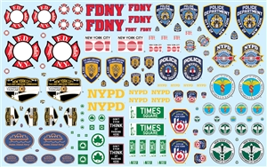 NYC Auxiliary Service Logos Decal Pack (1/25) (fs)