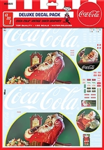 "Vintage Coca-Cola Santa Clause Big Rig Decals (1/25) (fs) <br><span style=""color: rgb(255, 0, 0);"">December 2018</span>"