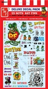 "Rat Fink Decal Pack (1/25) (fs) <br><span style=""color: rgb(255, 0, 0);"">Just Arrived!</span>"