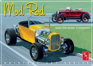 "1929 Ford Model A Roadster ""Mod Rod"" (1/25) (fs)"