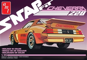 "AMT ""Cheverra"" Custom 1980 Camaro Snap Kit (1/25) (fs)"