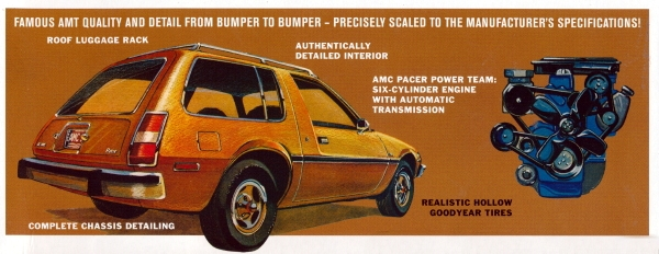 Amt R on Amc Pacer Wagon Parts