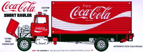 Coca Cola 1970 Ford Louisville Short Hauler 1 25 Fs