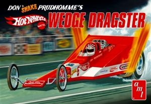 "AMT Don Prudhomme Coca Cola  Hot Wheels Wedge Rear Engine AA/Fuel Dragster ""New Tooling""  (1/25) (fs)"