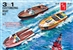 1959 Customizing Speed Boat (3 'n 1) Inboard Runabout, Customized Speedboat, or Seagoing Dragster (1/25) (fs)