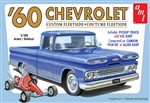 "1960 Chevy Custom Fleetside Pickup with Go Kart (1/25) (fs) <br><span style=""color: rgb(255, 0, 0);"">Back in Stock</span>"