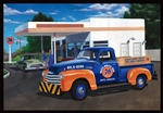 "1950 Chevy ""Union 76"" Pickup (1/25) (fs)"