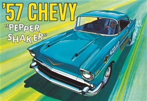 "1957 Chevy ""Pepper Shaker""  (3 'n 1) Stock, Custom, Drag Gasser (1/25) (fs)<br><span style=""color: rgb(255, 0, 0);"">Just Arrived</span>"