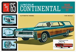 1965 Lincoln Continental (2 'n 1) Stock Convertible or Custom Wagon (1/25) (fs)