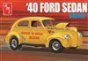 1940 Ford Sedan (2 'n 1) Stock or Drag (1/25) (fs)