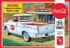"1955 Chevy ""Coca-Cola"" Cameo Pickup with Diecast Coke Machine and Dolly (1/25) (fs)"