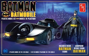 "1989 Batmobile with Resin Batman Figure (1/25) (fs) <br><span style=""color: rgb(255, 0, 0);"">Early October</span>"
