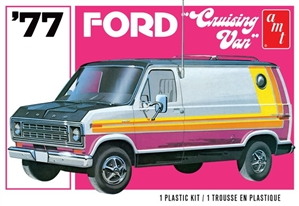 "1977 Ford Cruising Van (1/25) (fs)  <br><span style=""color: rgb(255, 0, 0);"">Late October</span>"